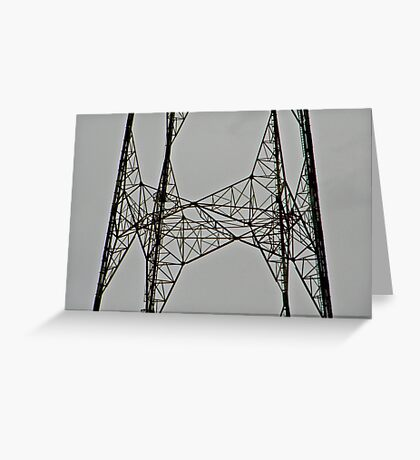 Channel 9 TV Tower Greeting Card