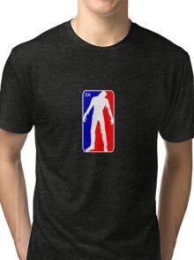 Zombie Apocalypse - NBA Parody  Tri-blend T-Shirt