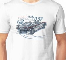 Rally Group B-Lancia 037 Rally Unisex T-Shirt