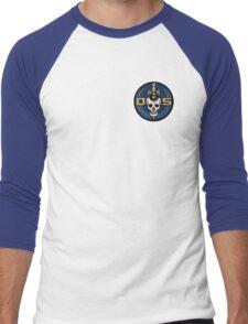 Danger 5 Emblem (Pocket) Men's Baseball ¾ T-Shirt
