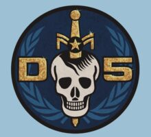 Danger 5 Emblem (Chest) Kids Clothes