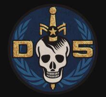 Danger 5 Emblem (Chest) One Piece - Long Sleeve