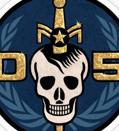 Danger 5 Emblem (Chest) Sticker