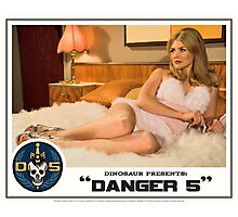 "Danger 5 Lobby Card #1 - ""The fruit is ripe but the tree is yet to be harvested"" Photographic Print"