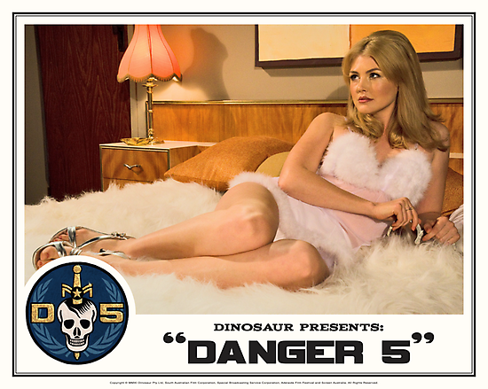 """Danger 5 Lobby Card #1 - """"The fruit is ripe but the tree is yet to be harvested"""" by Danger Store"""