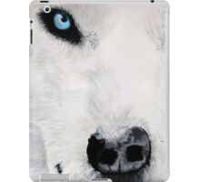 Life Companion (Light Blue) (full) iPad Case/Skin