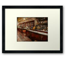 Pharmacy - W.B. Danforth Drugs 1895 Framed Print