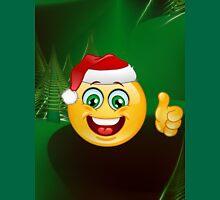 emoji santa claus christmas Unisex T-Shirt