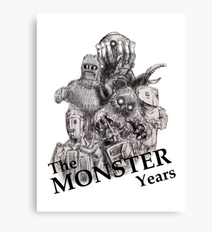 The Monster Years Canvas Print