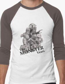 The Monster Years Men's Baseball ¾ T-Shirt