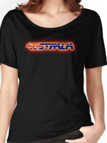 Australia - Flag Logo - Glowing Women's Relaxed Fit T-Shirt