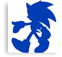 Sonic the Hedgehog Canvas Print