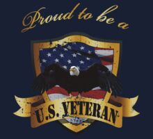 Proud to be a US Veteran - distrssed by avdesigns