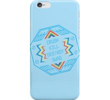 Crush Kill Destroy Swag iPhone Case/Skin