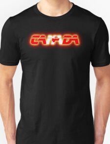 Canada - Flag Logo - Glowing T-Shirt