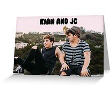 Kian and Jc Rooftop  Greeting Card