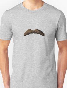 Macho Pixel Moustache T-Shirt