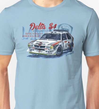 Rally Group B-Lancia Delta S4 Unisex T-Shirt