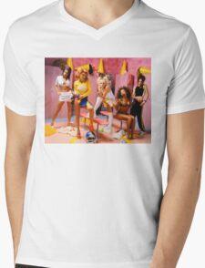 Spice Girls Mens V-Neck T-Shirt
