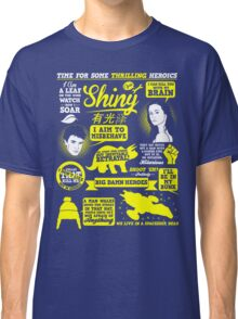 Shiny Quotes Classic T-Shirt
