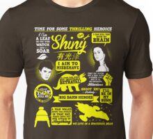 Shiny Quotes Unisex T-Shirt