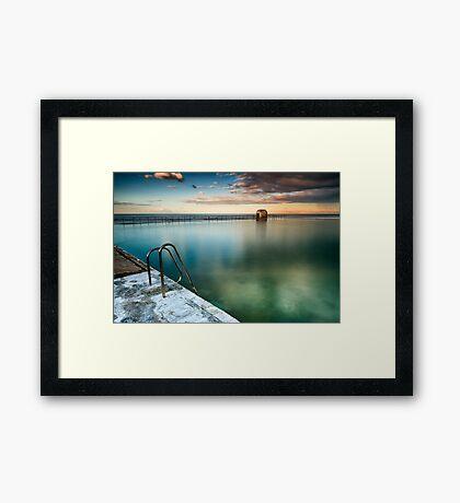 Merewether Pool Framed Print