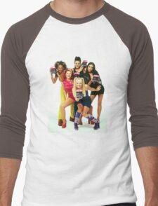 Spice Girls Men's Baseball ¾ T-Shirt