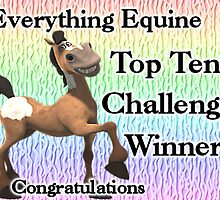 Everything Equine top ten banner by LoneAngel