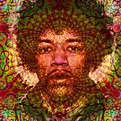 Hendrix iphone case by Bill Brouard