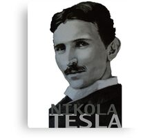 NikolaTesla Canvas Print