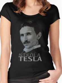 NikolaTesla Women's Fitted Scoop T-Shirt