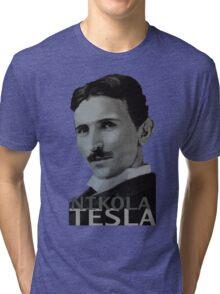 NikolaTesla Tri-blend T-Shirt