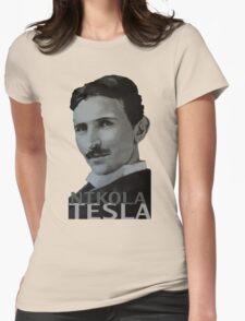 NikolaTesla Womens Fitted T-Shirt