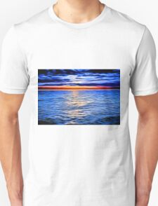 Sunset and the Sea Unisex T-Shirt