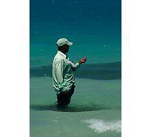 Fishing in Zanzibar Photographic Print