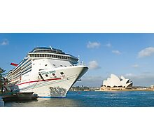 Mighty Big Ship Photographic Print