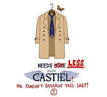 Needs Less Castiel by mistina