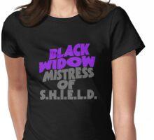 Mistress Widow Womens Fitted T-Shirt