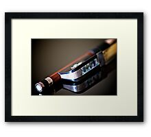 """""""Music is the universal language of mankind."""" Framed Print"""
