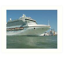 Sea liners Art Print