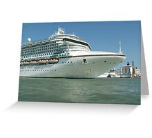 Sea liners Greeting Card