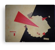 Attack of the Red Wedge Canvas Print