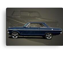 1963 Chevy II Nova Canvas Print