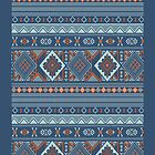 Aztec Pattern Series by Jordan Bails