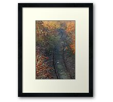 Autumn Line Framed Print
