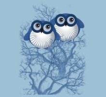 BLUE OWLS by peter chebatte