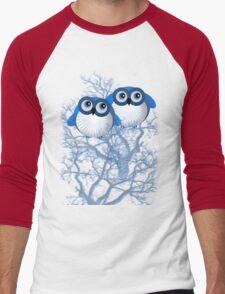 BLUE OWLS Men's Baseball ¾ T-Shirt