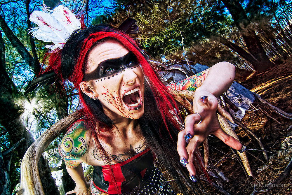 Screamer by Neil Photograph