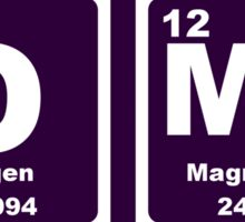OMG - Periodic Table Sticker