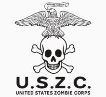 United States Zombie Corps. Kids Tee
